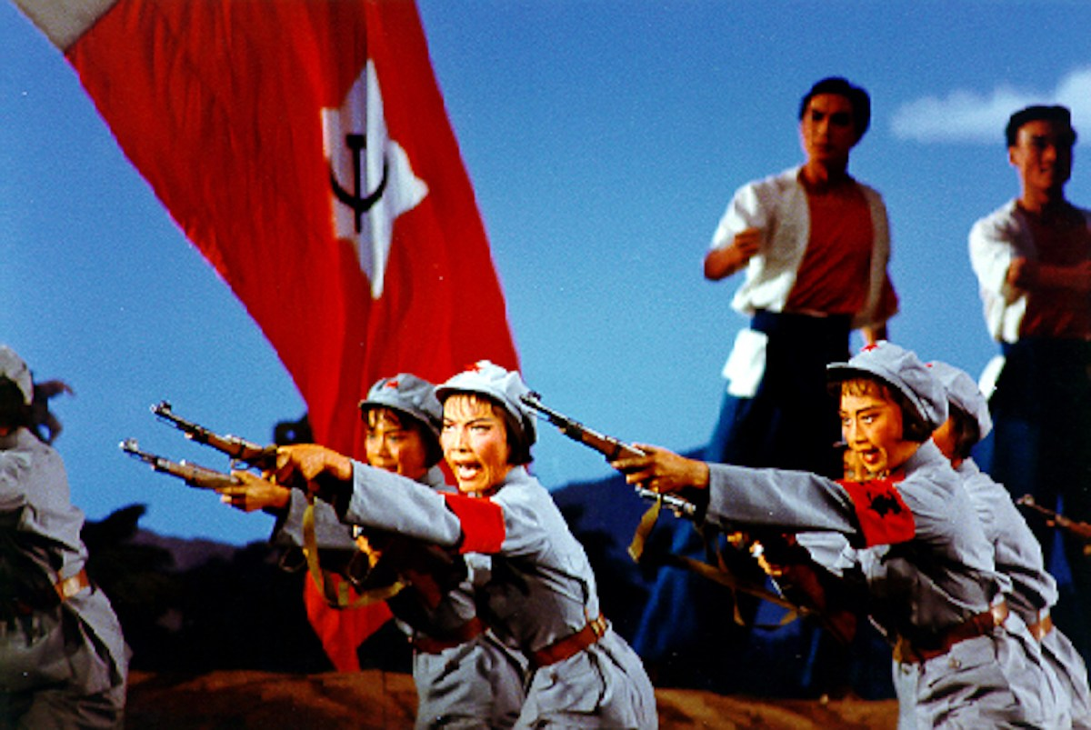 A scene from The Red Detachment of Women. Photo: Wikimedia Commons