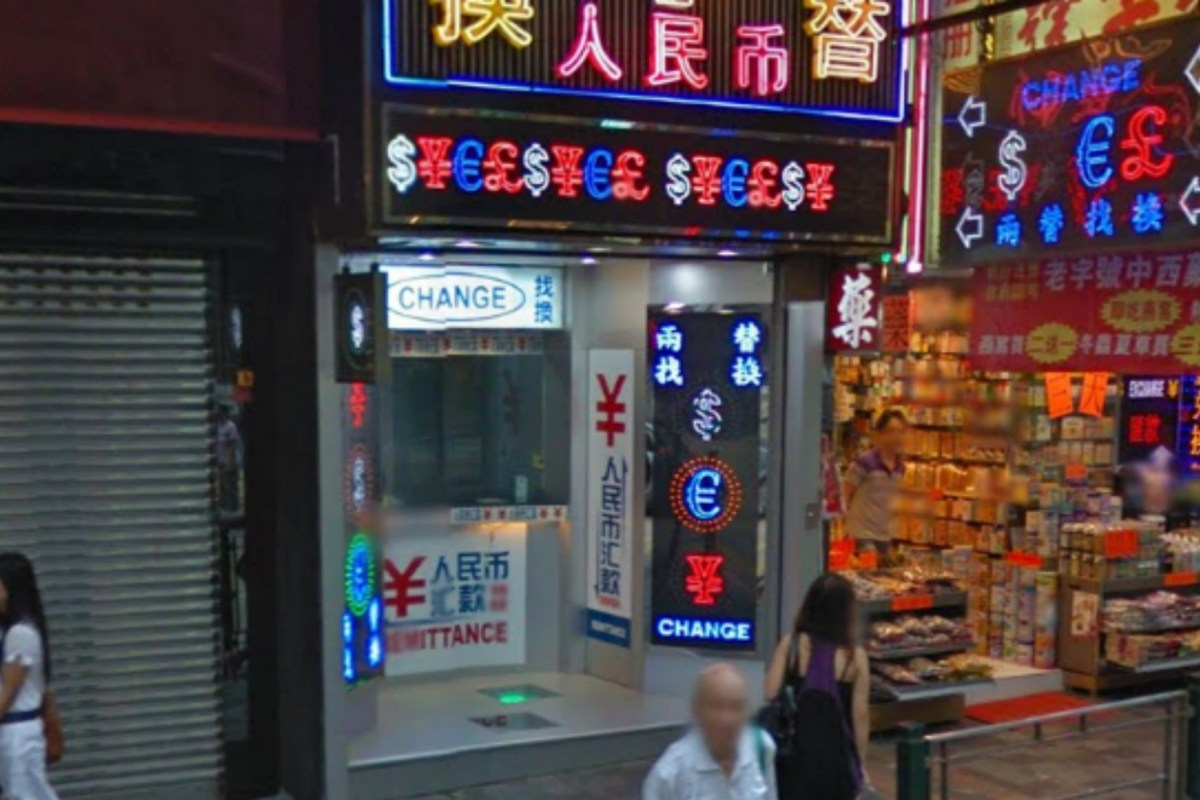 A man failed to rob a money exchange shop in Yau Ma Tei on Wednesday. Photo: Google Map