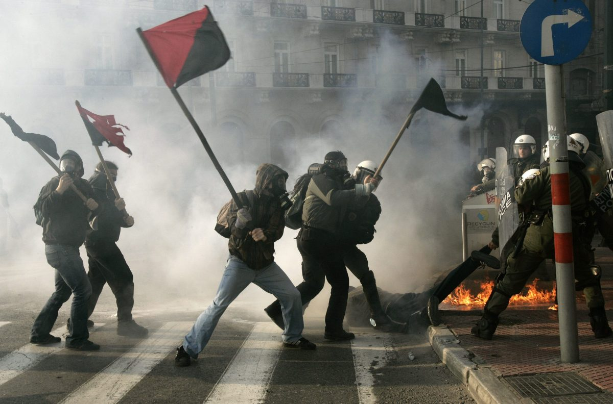 Anarchy in Athens, ISIS in Syria... anger is the thread that ties them together. Photo: Reuters