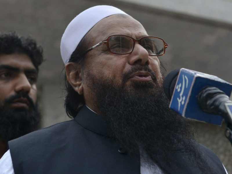 Hafiz Saeed, leader of Jamaat-ud-Dawa. Photo: AFP