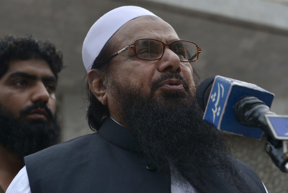 Hafiz Saeed, leader of Jamaat-ud-Dawa. Photo: AFP