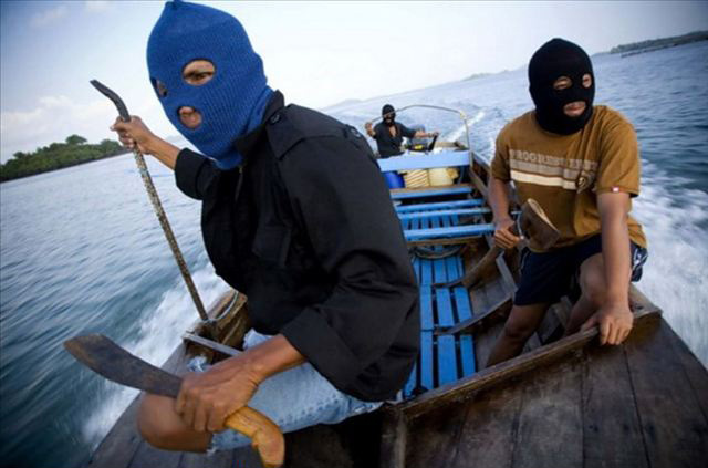 Abu Sayyaf, with links to the Islamic State, has been involved in frequent acts of piracy in the Philippines and has beheaded captives when ransom demands have not been met (File image: Interpol).