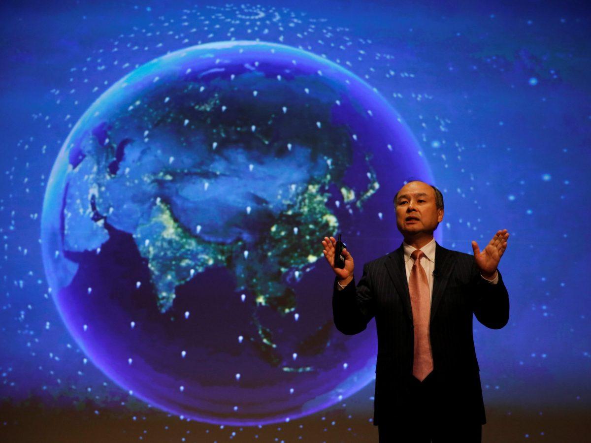 Global domination? SoftBank Group Chairman Masayoshi Son. Photo: Reuters / Toru Hanai
