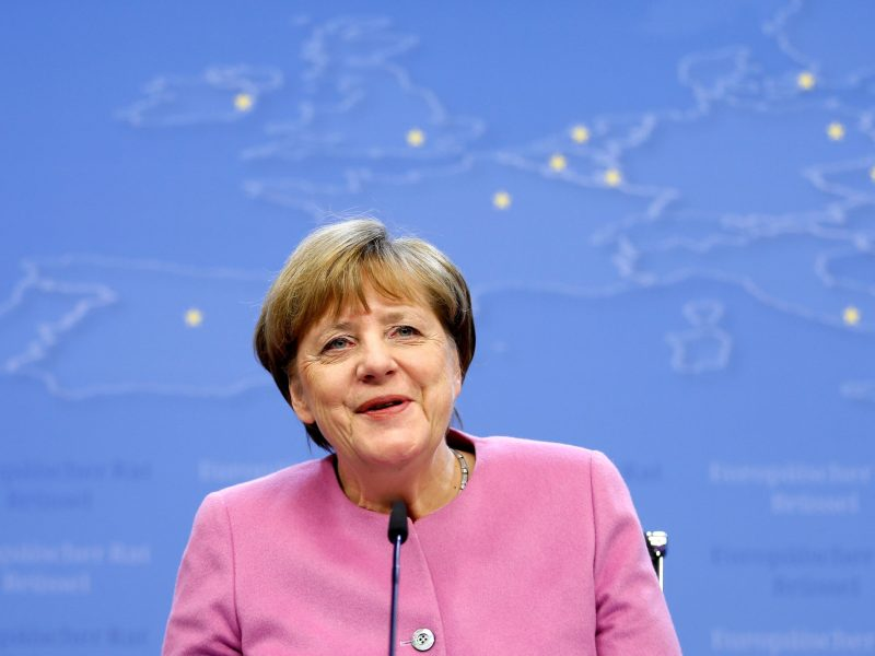 Germany's Chancellor Angela Merkel has been the staunchest European champion of liberal democratic ideas. Photo: Reuters
