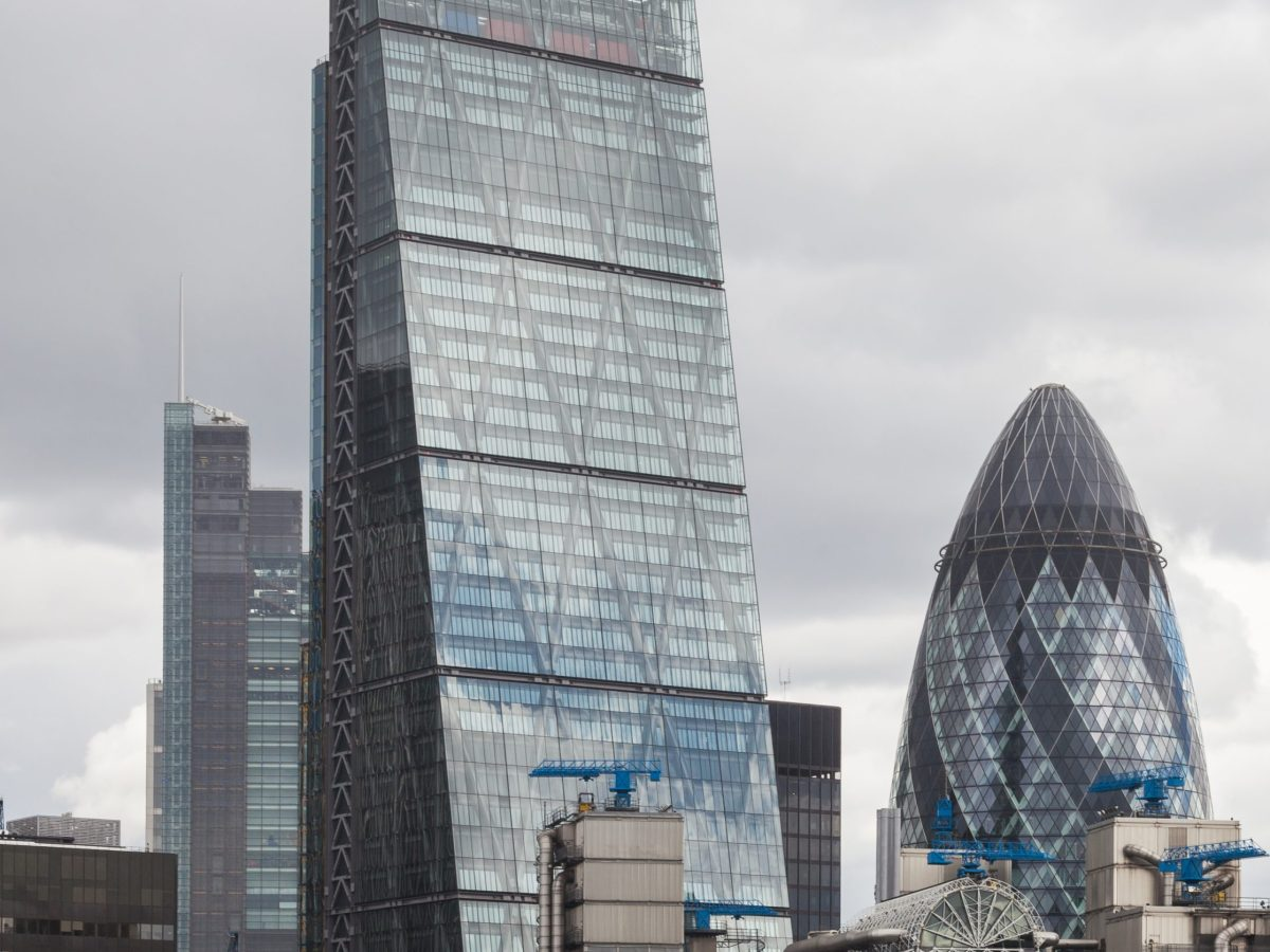 The Cheesegrater. Photo: Diego Delso,  License CC-BY-SA