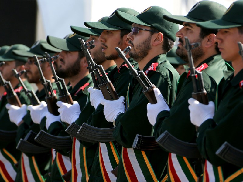 The IRGC have shown they are ready to shed blood in Syria. Photo: AFP
