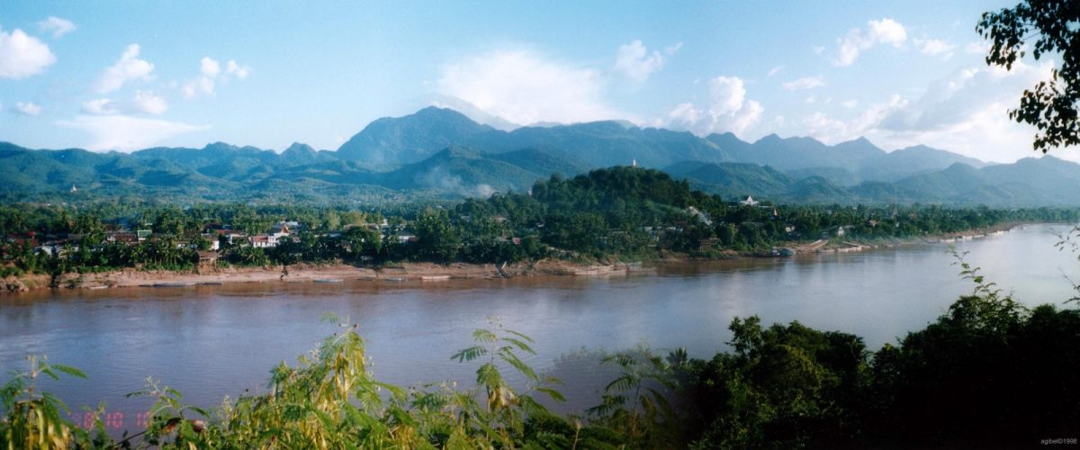 The Mekong River near Luang Prabang in northern Laos. Photo: Wikimedia Commons