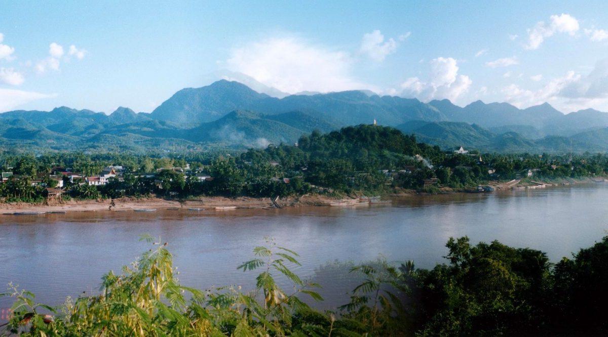 The Mekong River near Luang Prabang in northern Laos. Photo: Wikimedia Commons
