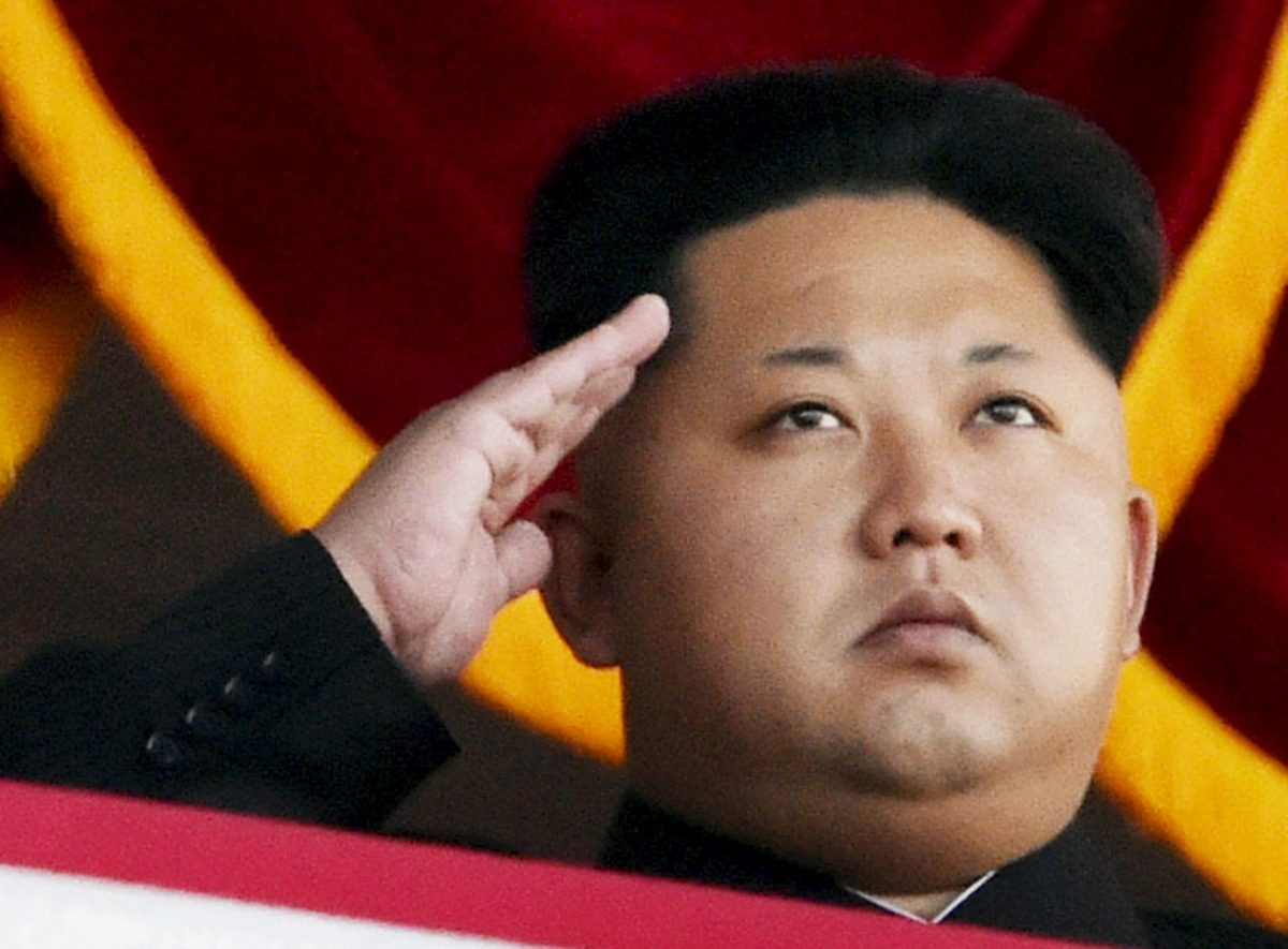 North Korea's Kim Jong-un. Photo: Kyodo/Reuters