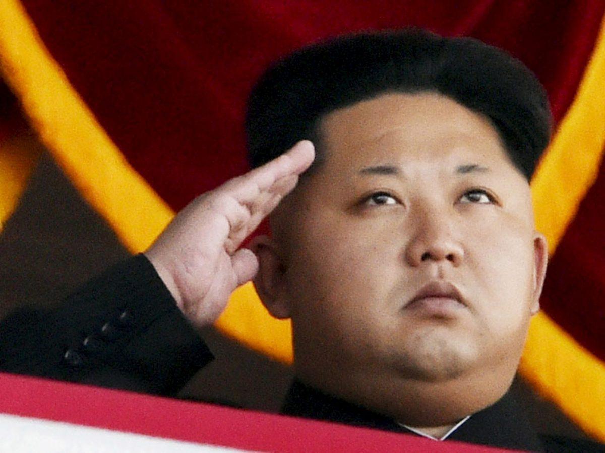 North Korea's Kim Jong-un. Photo: Kyodo/Reuters