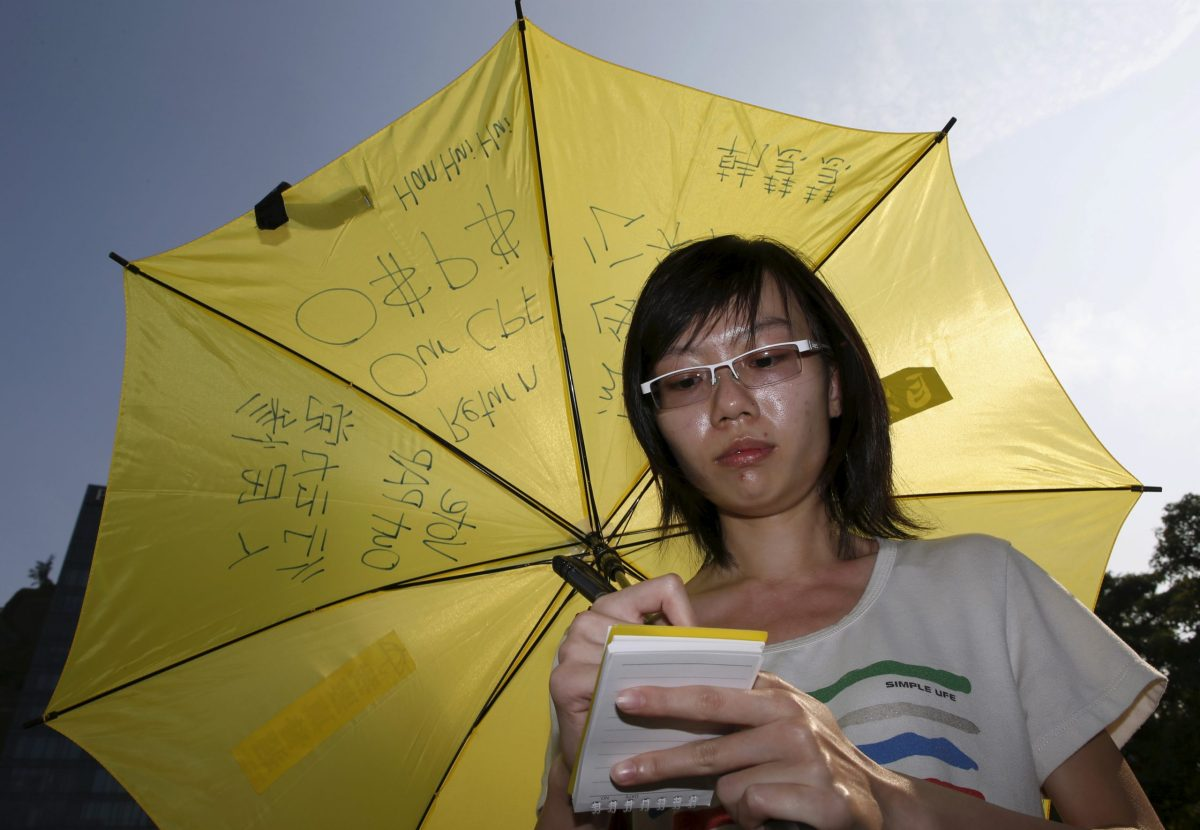 Singapore has targeted activist Han Hui Hui with punitive legal threats and actions. Reuters / Edgar Su