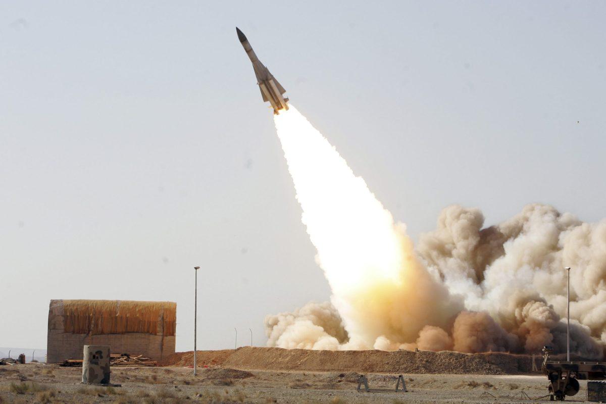 S-200 missile. Photo: Reuters