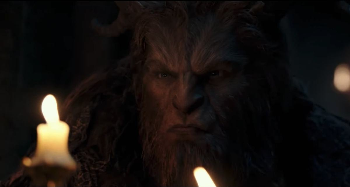 A scene from Beauty and the Beast. Photo: YouTube trailer