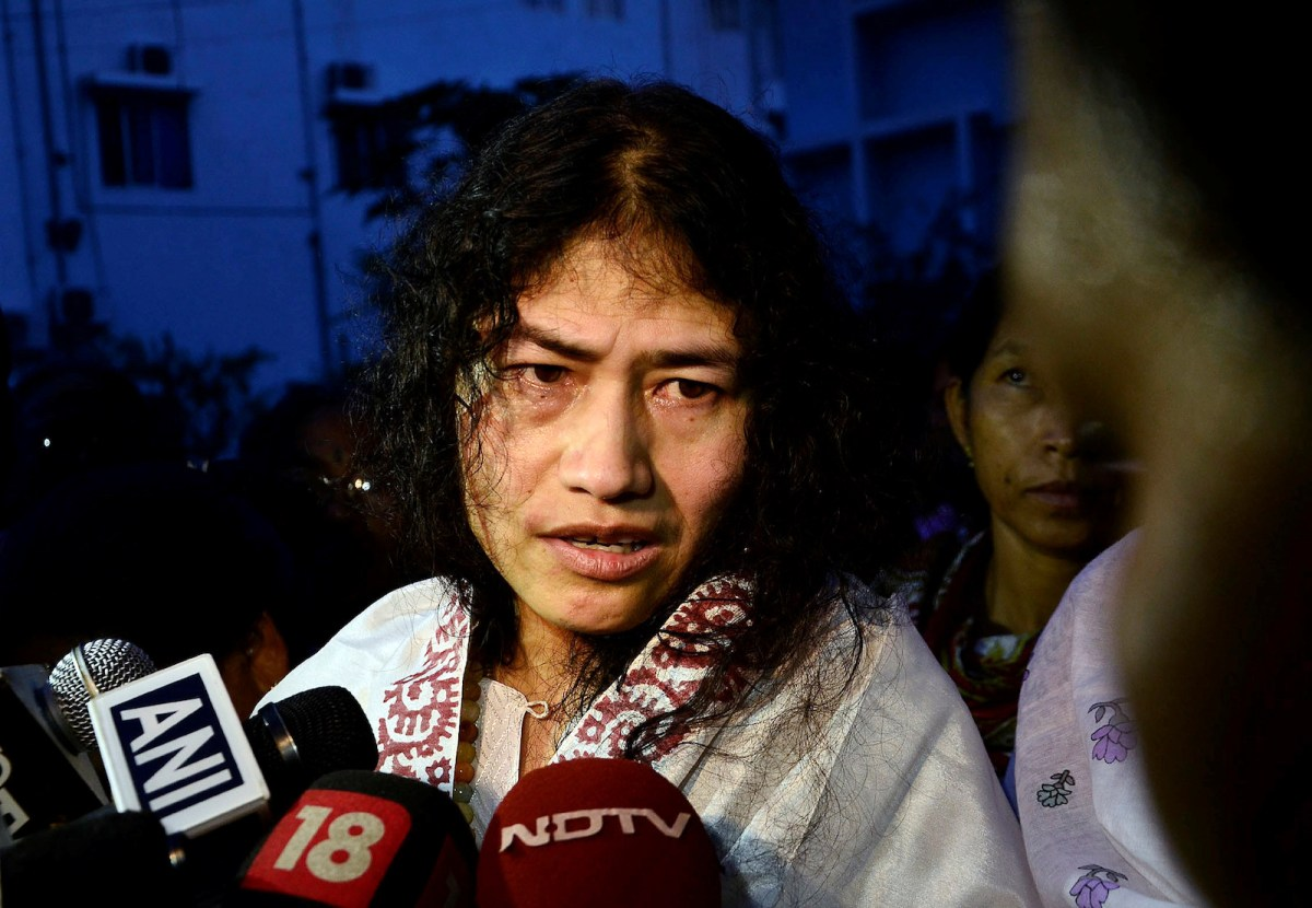 Indian human rights activist Irom Sharmila fared poorly in a recent state election while in many jurisdictions, criminals are voted into office.  Photo: Reuters