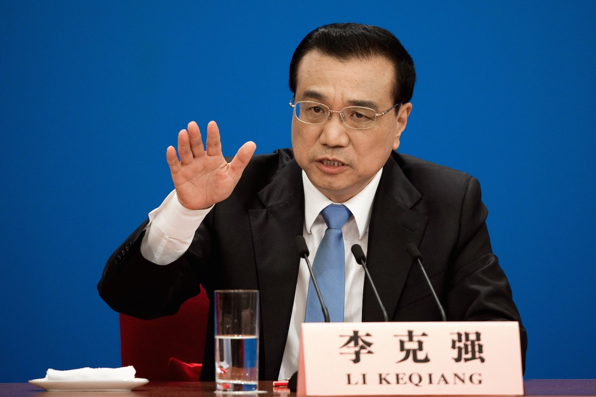 China's premier Li Keqiang told a news conference at the end of the annual session of the National People's Congress that China is concerned about worsening relations on the Korean Peninsula and urged all parties to resume a dialogue. He also said progress has been made toward a solution to territorial disputes in the South China Sea. Photo: AFP/Nicolas Asfouri