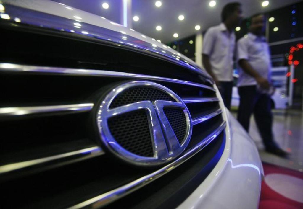 A Tata Motors showroom on the outskirts of Agartala in India. _ Reuters