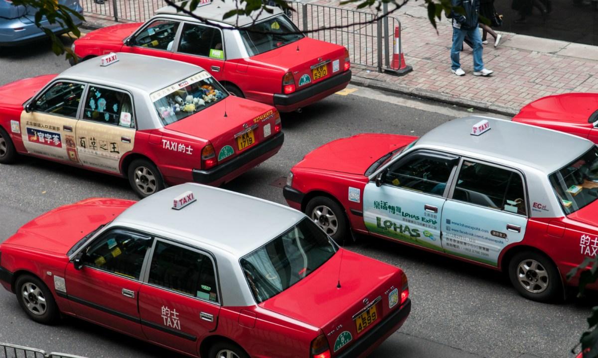 Hong Kong taxis  Photo: Wikimedia Commons