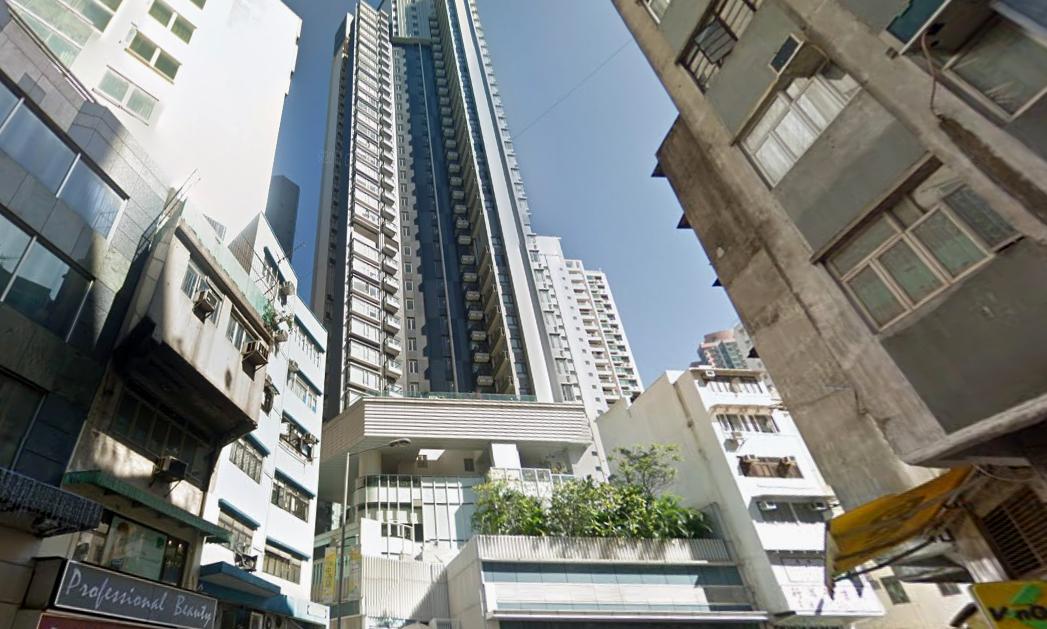 Soho 189, Sai Ying Pun, Hong Kong Island Photo: Google Map