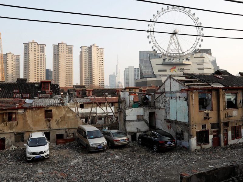 China's housing market refuses to be deflated. Photo: Reuters