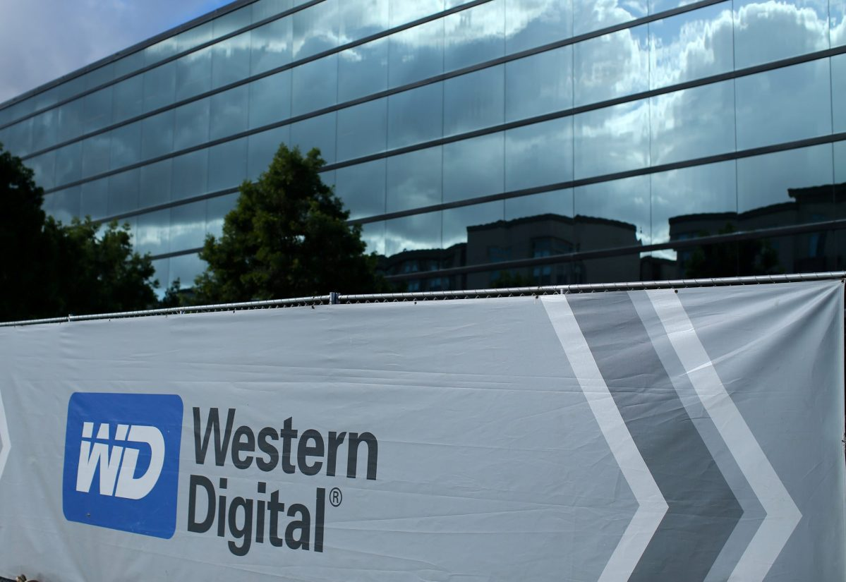 A Western Digital office building under construction is shown in Irvine, California.   Photo: Reuters/Mike Blake