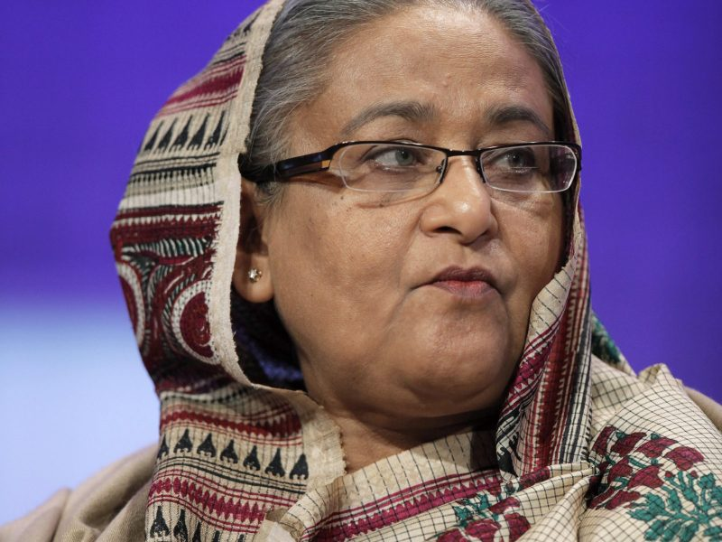 Prime Minister Sheikh Hasina is expected to extend her reign as Bangladesh's longest-serving leader. Photo: Reuters