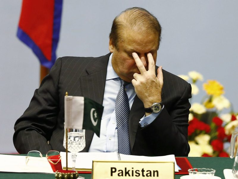 Nawaz Sharif who had been given refuge in Saudi Arabia after the coup in October 1999, is unlikely to find friends there after the Saudi purge. Photo: Reuters