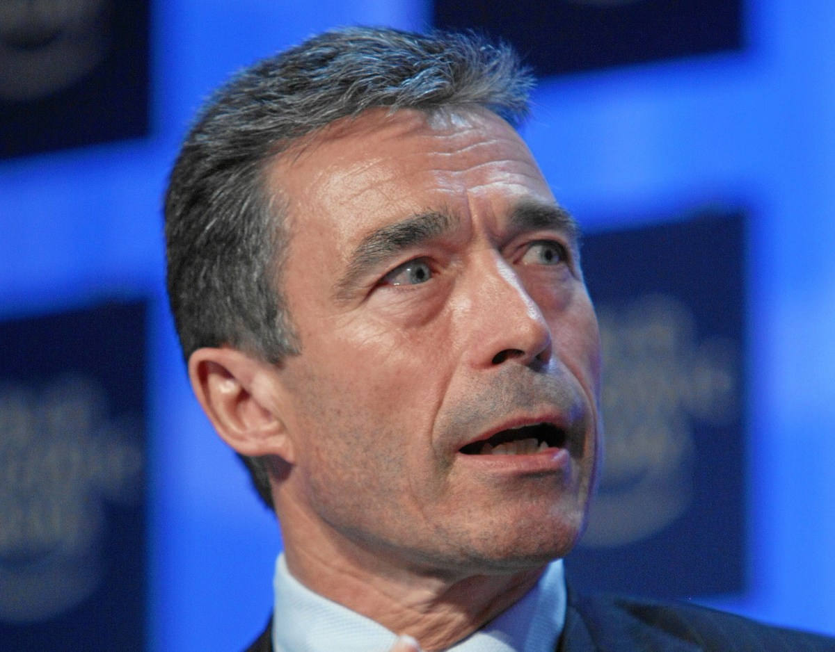 Former Danish prime minister and Nato head Anders Fogh Rasmussen believes the United States is the only world power capable of reining in rogue states, autocrats and terrorists who threaten world stability. Photo: Wikipedia