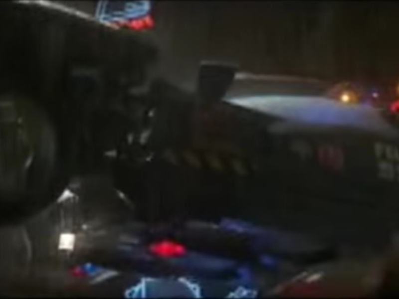 Will reality finally catch up with film? A flying car in Blade Runner. Photo: YouTube