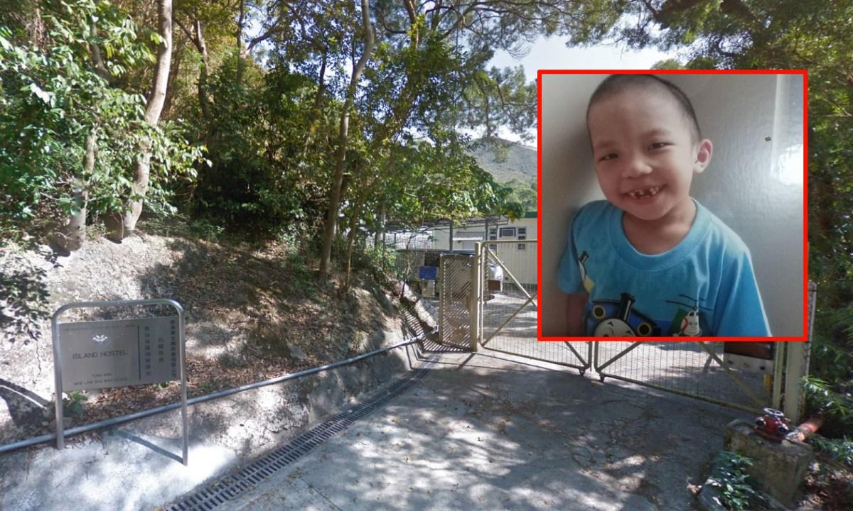 Ho Yau-yip (inset) went missing since Sunday from Island Hostel in Shek Pik of Lantau Island. Photos: Google Maps, Facebook