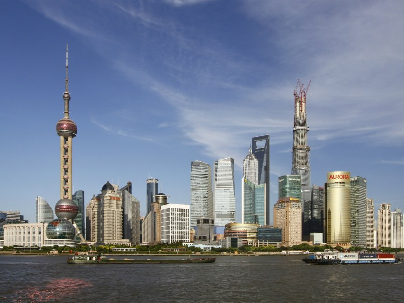 Pudong, Shanghai Photo: Wikimedia Commons