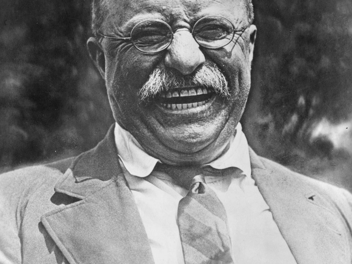 "Teddy Roosevelt, 26th president of the United States, had a straightforward diplomatic prescription — ""Speak softly and carry a big stick."" It's early days, but the Trump administration appears willing to use the stick. Photo: Wikipedia Commons"