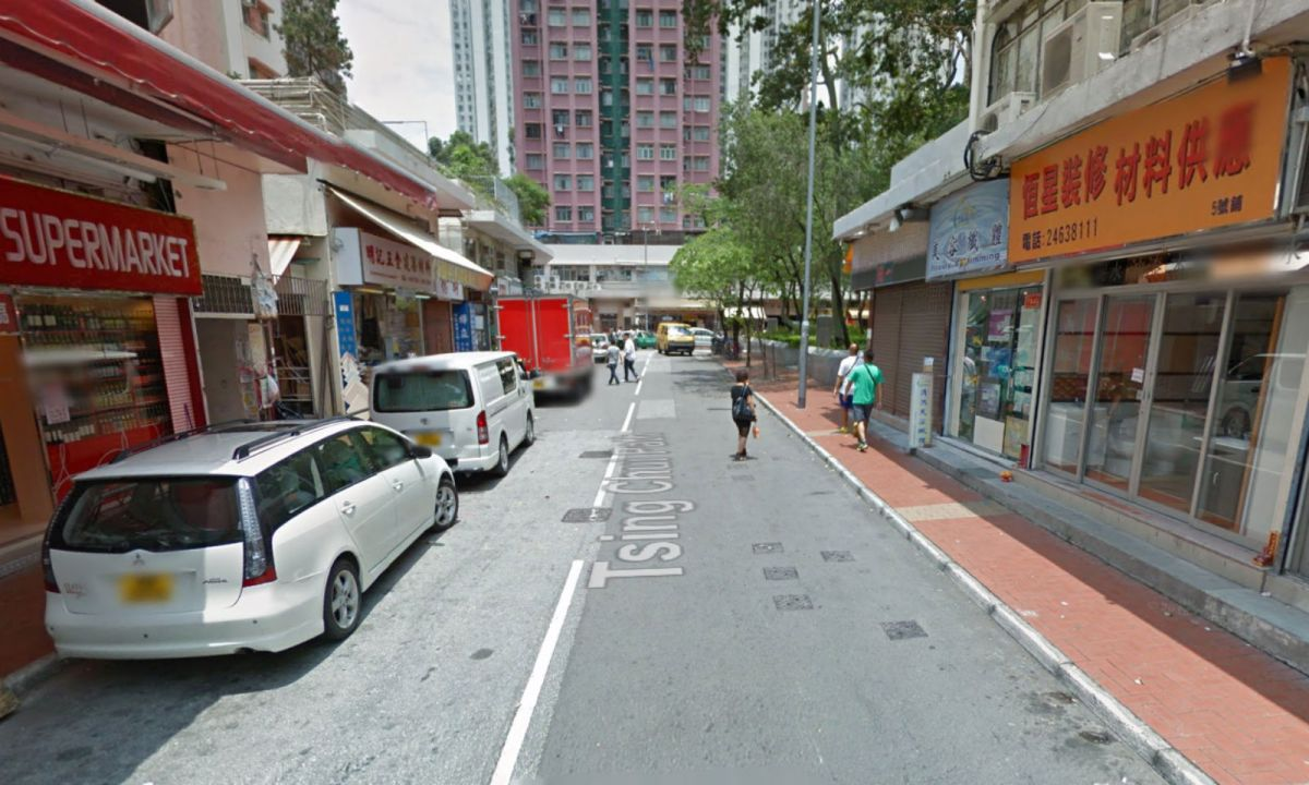 Police arrested the suspect on Chui Ping Path in Tuen Mun. Photo: Google Map