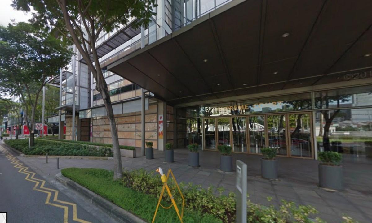 Supreme Court, Singapore Photo: Google Map