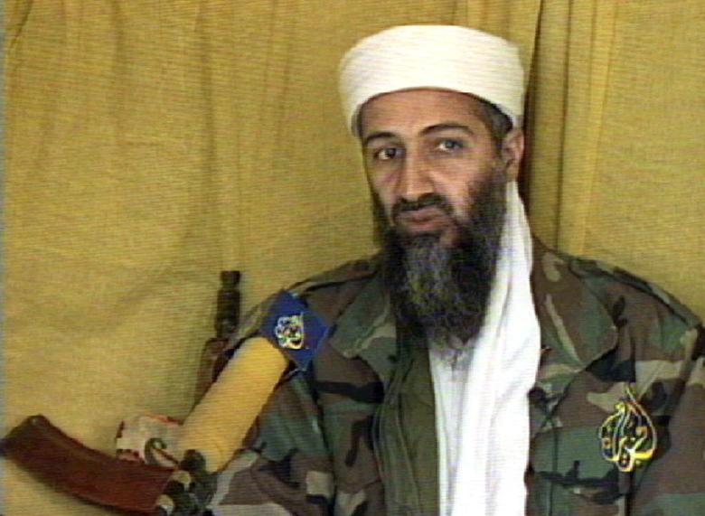 Osama bin Laden in June 1999. Photo courtesy of AFP