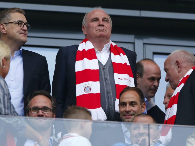Bayern Munich president Bayern Munich Uli Hoeness. Photo: Reuters/Hannibal Hanschke