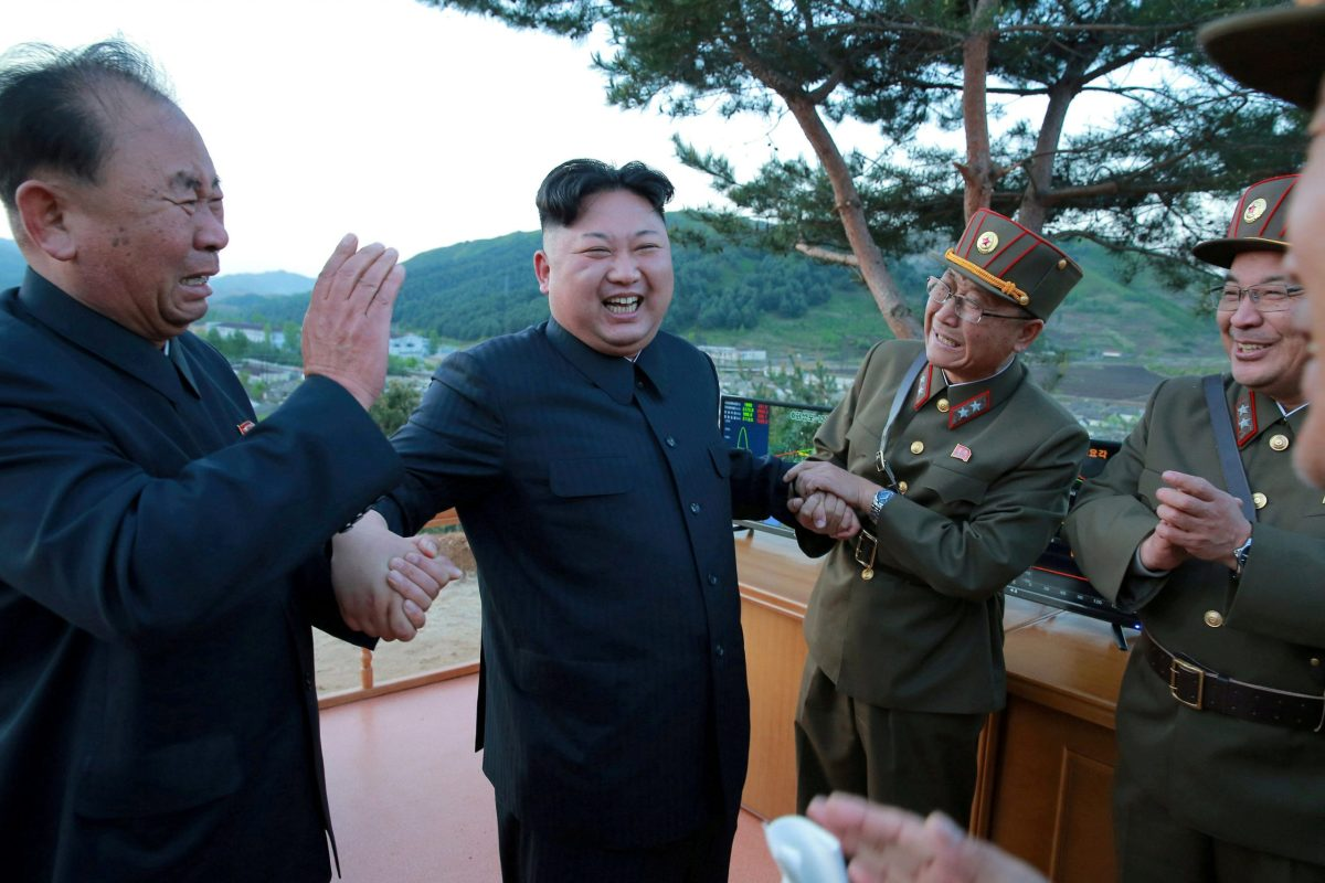 Is the UN about to spoil North Korean leader Kim Jong-un's party? Photo: KCNA via Reuters