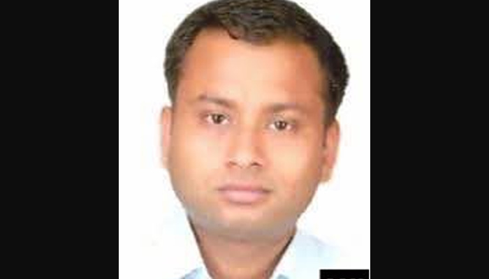 Civil servant Anurag Tiwari was found dead in the Hazratganj area of Lucknow. Photo: Z News