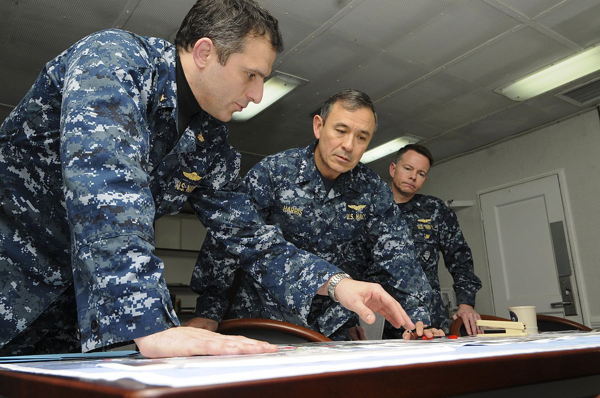 Has China asked the Trump administration to sack Head of US Pacific Command Adm Harry Harris (c)? Photo: Wikipedia Commons