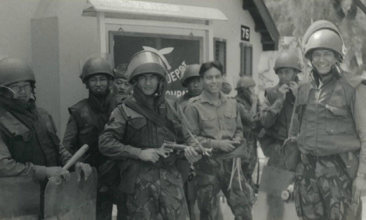 Gurkhas soldiers were trained in Shek Kong camp. Photo: Lieutenant Arjun Gurung