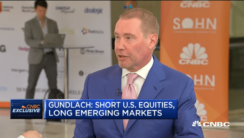DoubleLink Capital CEO Jeffrey Gundlach. CNBC