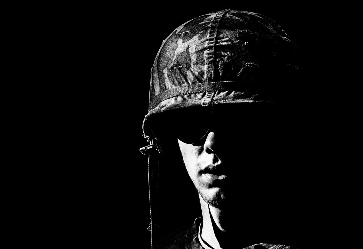 A stock image of a young US soldier in the Vietnam War era. Photo: iStock/Getty Images