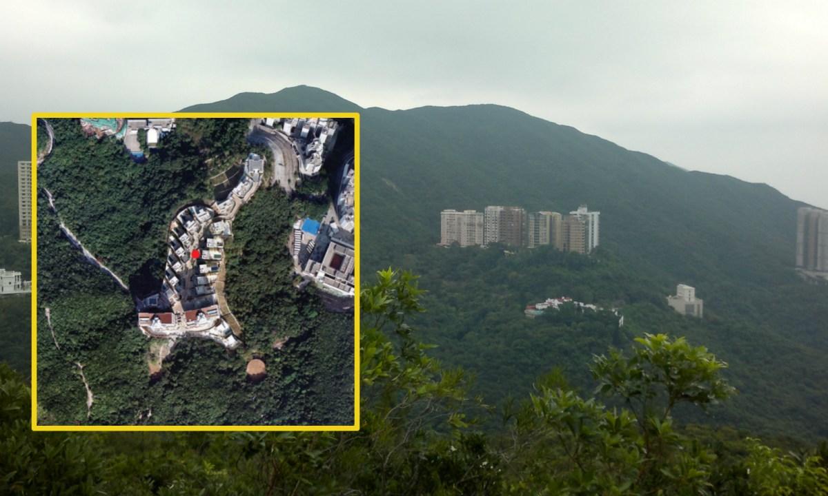 Nicholson Mountain, Hong Kong Island Photo: Wikimedia Commons, mountnicholson.com.hk