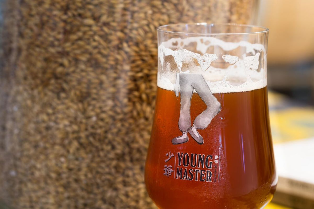 Craft beers a specialty at Young Master. Photo: Young Master Brewery