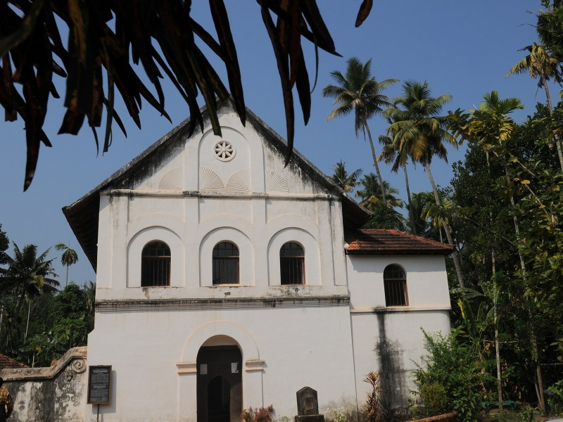 Over 150 Jews lived comfortably near this synagogue in the Kottayil Kovilakam area of Chendamangalam. Photo from keralatourism.org