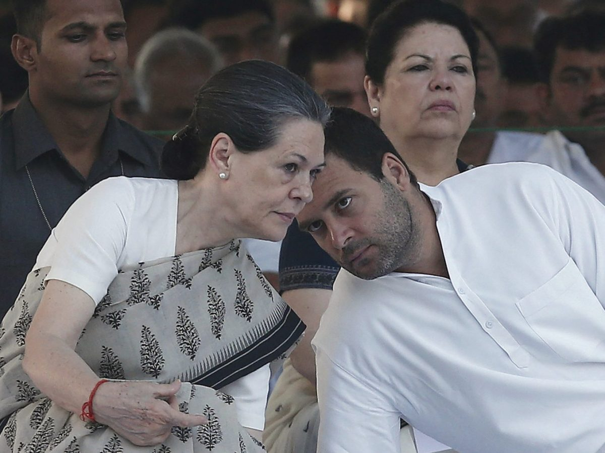 Congress party chief Sonia Gandhi has handed over her position to her son Rahul Gandhi. Photo: Reuters