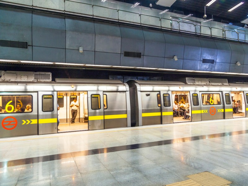 The Delhi Metro Rail is seen as one of the success stories of public transport in India. Photo: iStock