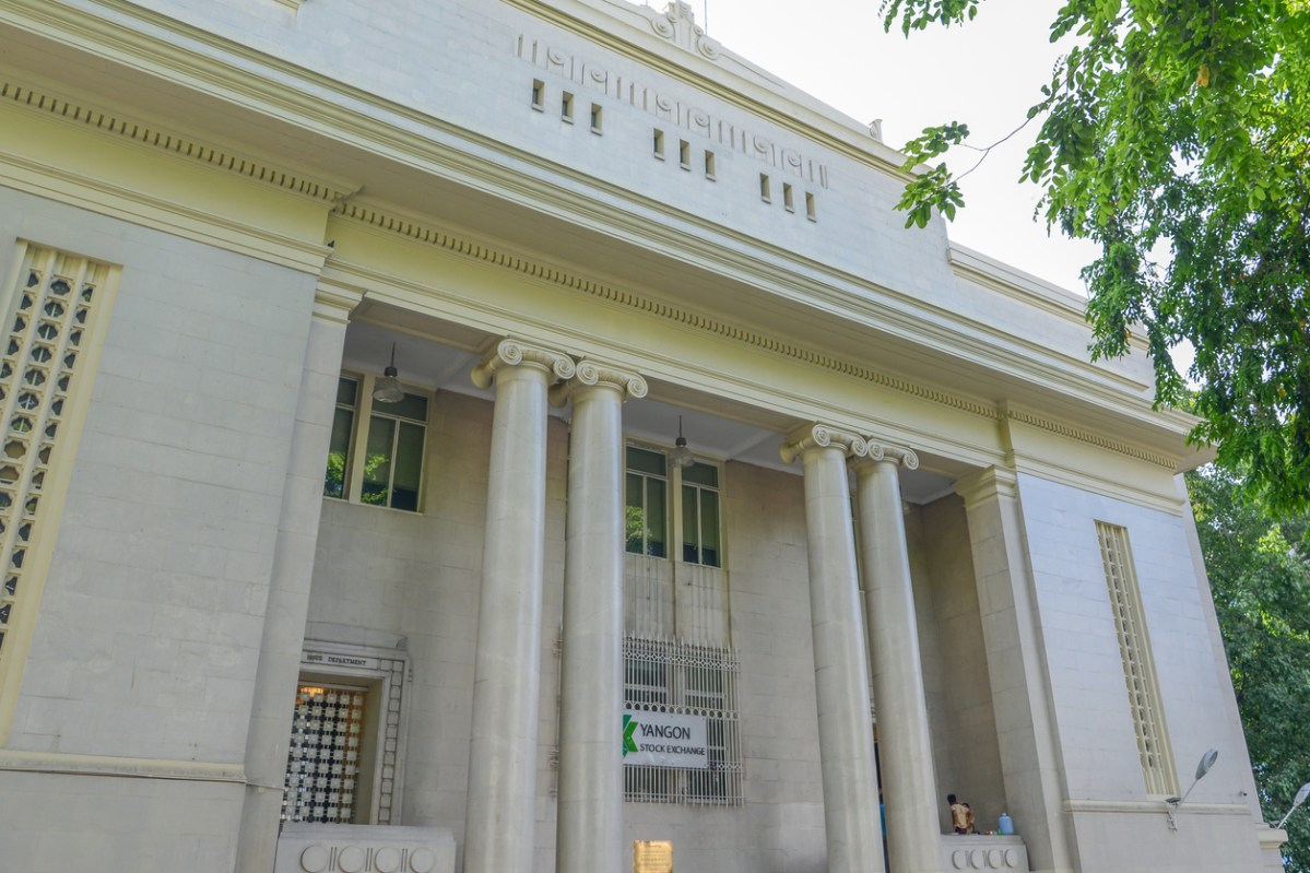 The Yangon Stock Exchange (YSX) building. Photo: iStock
