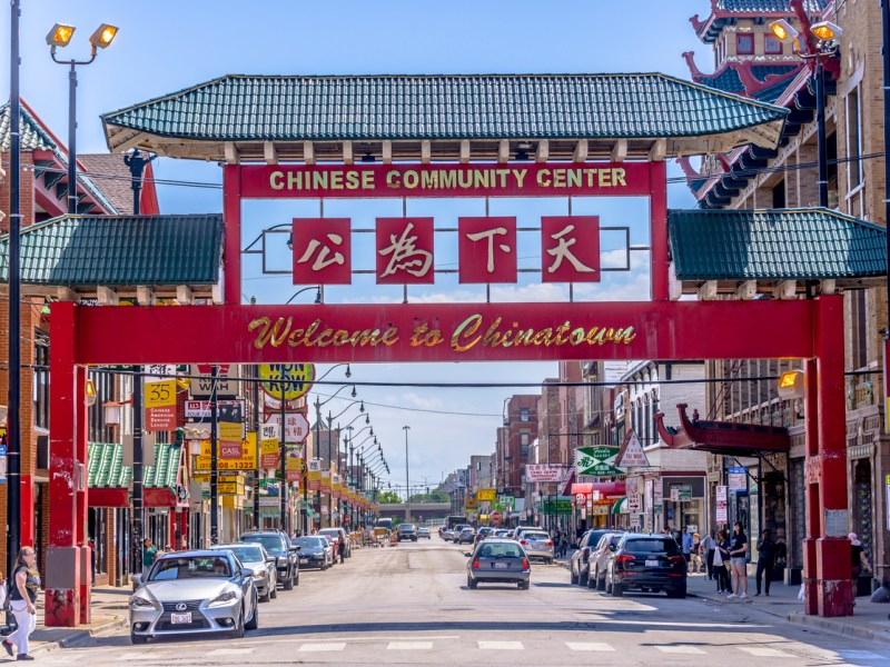 Chicago's Chinatown. Many Chinese immigrants surveyed expressed strong support for the policies of US President Donald Trump. Photo: iStock