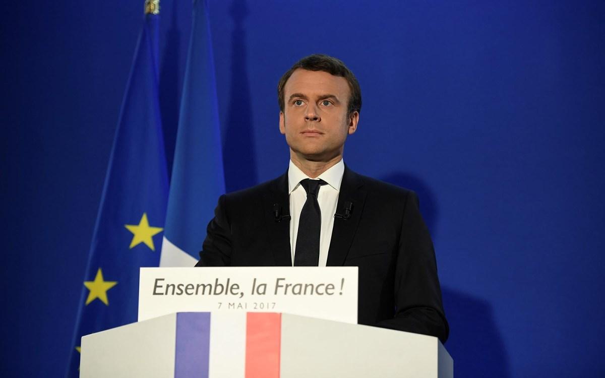 French President-elect Emmanuel Macron. Photo: Reuters