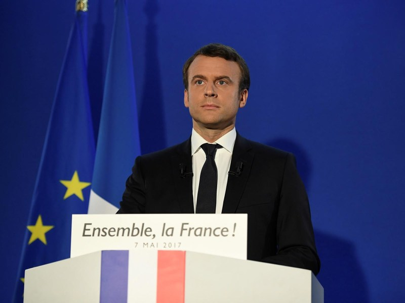 French President-elect Emmanuel Macron. Photo: Reuters